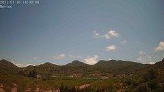 view from Borriol - la Vall del Morico (Vista Est-Desert) on 2021-07-16