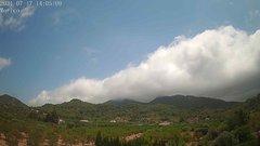 view from Borriol - la Vall del Morico (Vista Est-Desert) on 2021-07-17