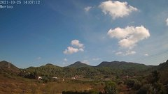 view from Borriol - la Vall del Morico (Vista Est-Desert) on 2021-10-25