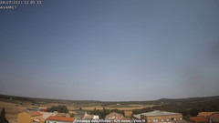 view from Fontanars2 AVAMET on 2021-07-24