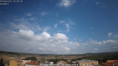 view from Fontanars2 AVAMET on 2021-08-30