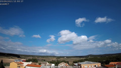 view from Fontanars2 AVAMET on 2021-09-20