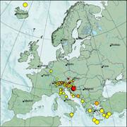view from Erdbeben Europa on 2021-01-09