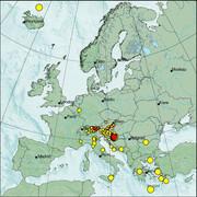 view from Erdbeben Europa on 2021-01-11