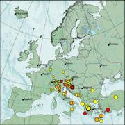 view from Erdbeben Europa on 2021-01-19