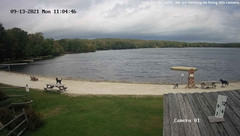 view from Big Bass Lake on 2021-09-13