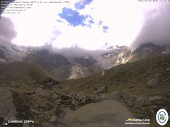 view from Rifugio Zamboni on 2021-08-30