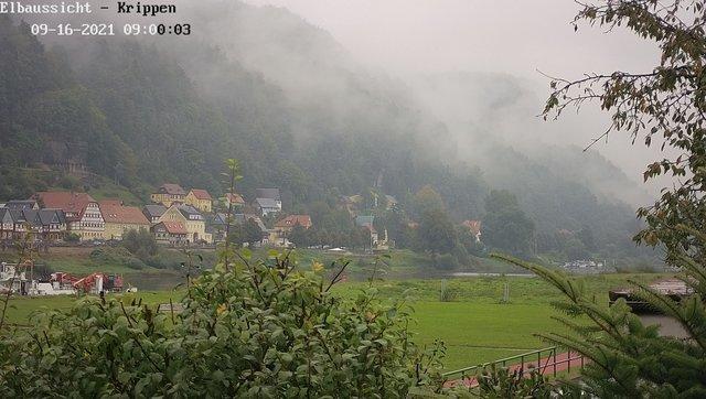 time-lapse frame, Webcam in Bad Schandau Sächsische Schweiz webcam