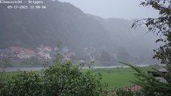 view from Webcam in Bad Schandau Sächsische Schweiz on 2021-09-17