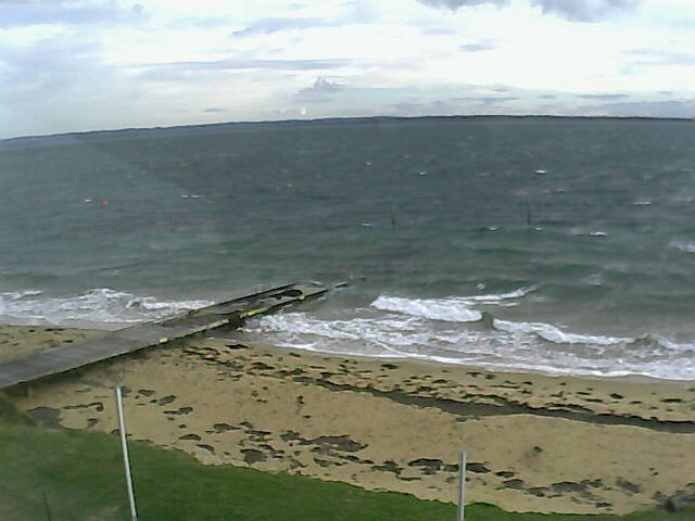 time-lapse frame, Cowes Yacht Club - North webcam
