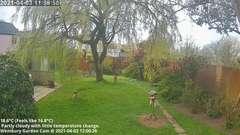 view from Wembury, Devon. Garden Cam on 2021-04-03