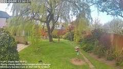 view from Wembury, Devon. Garden Cam on 2021-04-14