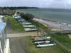 view from Cowes Yacht Club - West on 2021-09-21