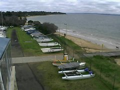 view from Cowes Yacht Club - West on 2021-09-22