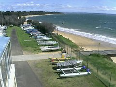 view from Cowes Yacht Club - West on 2021-09-23
