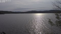 view from 4th Lake, Inlet, NY on 2020-11-20