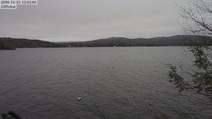view from 4th Lake, Inlet, NY on 2020-11-23