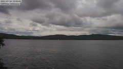 view from 4th Lake, Inlet, NY on 2021-07-16