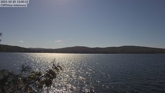 view from 4th Lake, Inlet, NY on 2021-10-20
