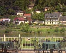 view from Webcam in Bad Schandau, Krippen & Postelwitz on 2021-06-03
