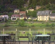 view from Webcam in Bad Schandau, Krippen & Postelwitz on 2021-06-04