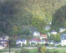 view from Webcam in Bad Schandau, Krippen & Postelwitz on 2021-10-15