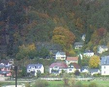 view from Webcam in Bad Schandau, Krippen & Postelwitz on 2021-10-23