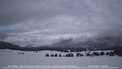 view from Pian Cansiglio - Casera Le Rotte on 2021-01-06