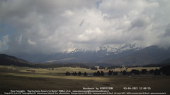 view from Pian Cansiglio - Casera Le Rotte on 2021-04-03