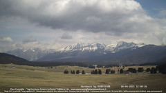 view from Pian Cansiglio - Casera Le Rotte on 2021-04-10