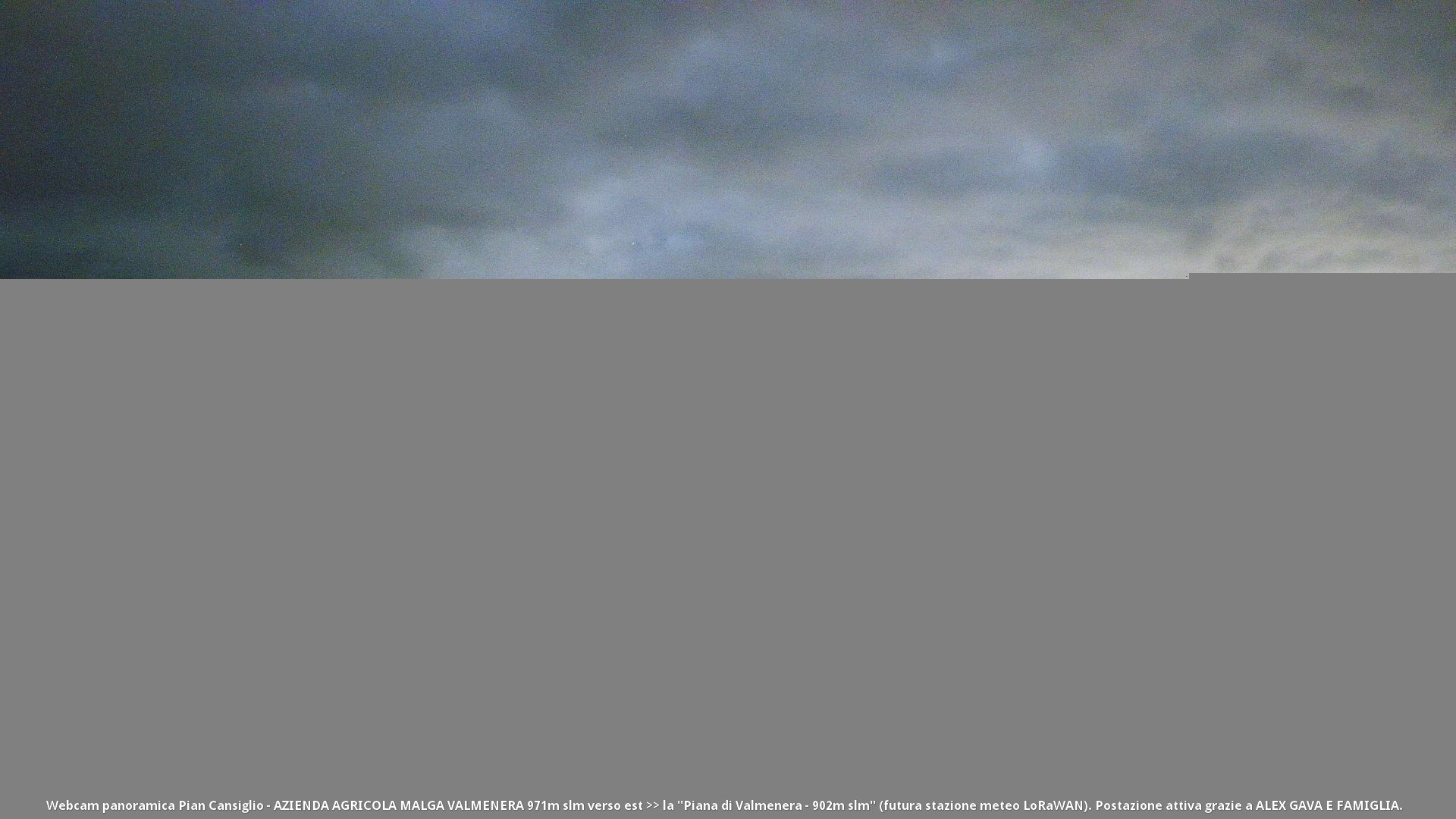 time-lapse frame, Pian Cansiglio - Malga Valmenera webcam