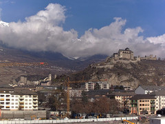 view from Sion - Industrie 17 on 2021-02-17