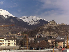 view from Sion - Industrie 17 on 2021-02-18