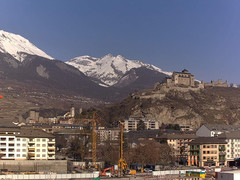 view from Sion - Industrie 17 on 2021-02-25