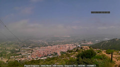 view from Enguera ADENE on 2021-06-09
