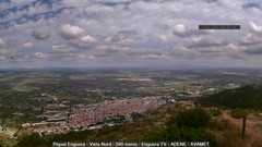 view from Enguera ADENE on 2021-07-15